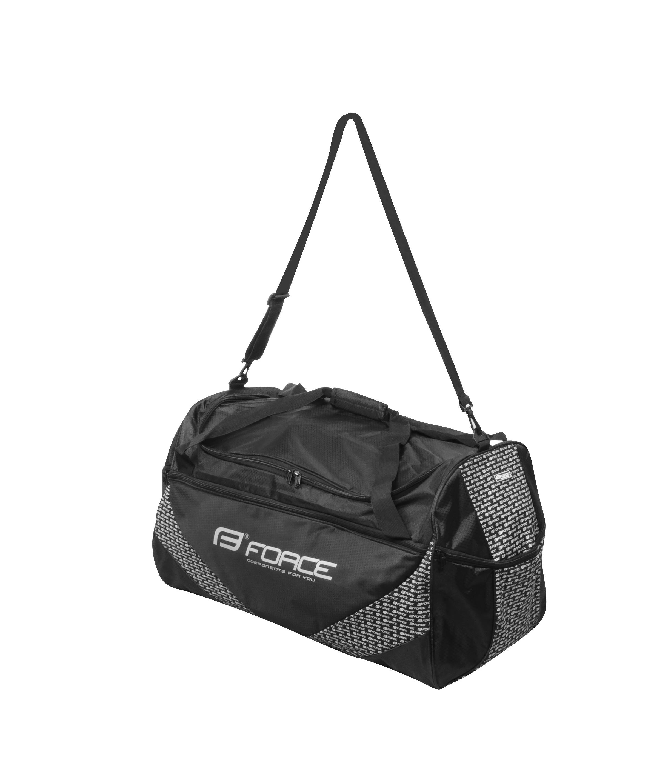 taška sportovní FORCE 35 l, černá