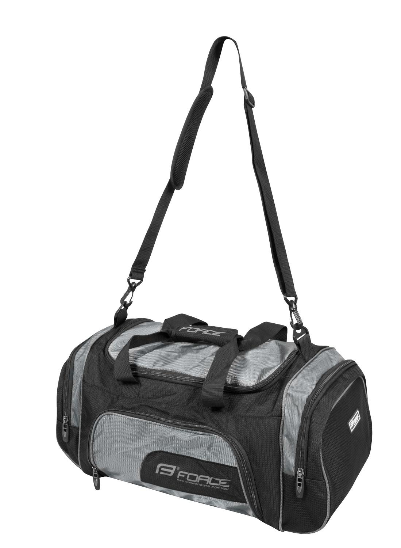 taška sportovní FORCE ACTIVE, černá