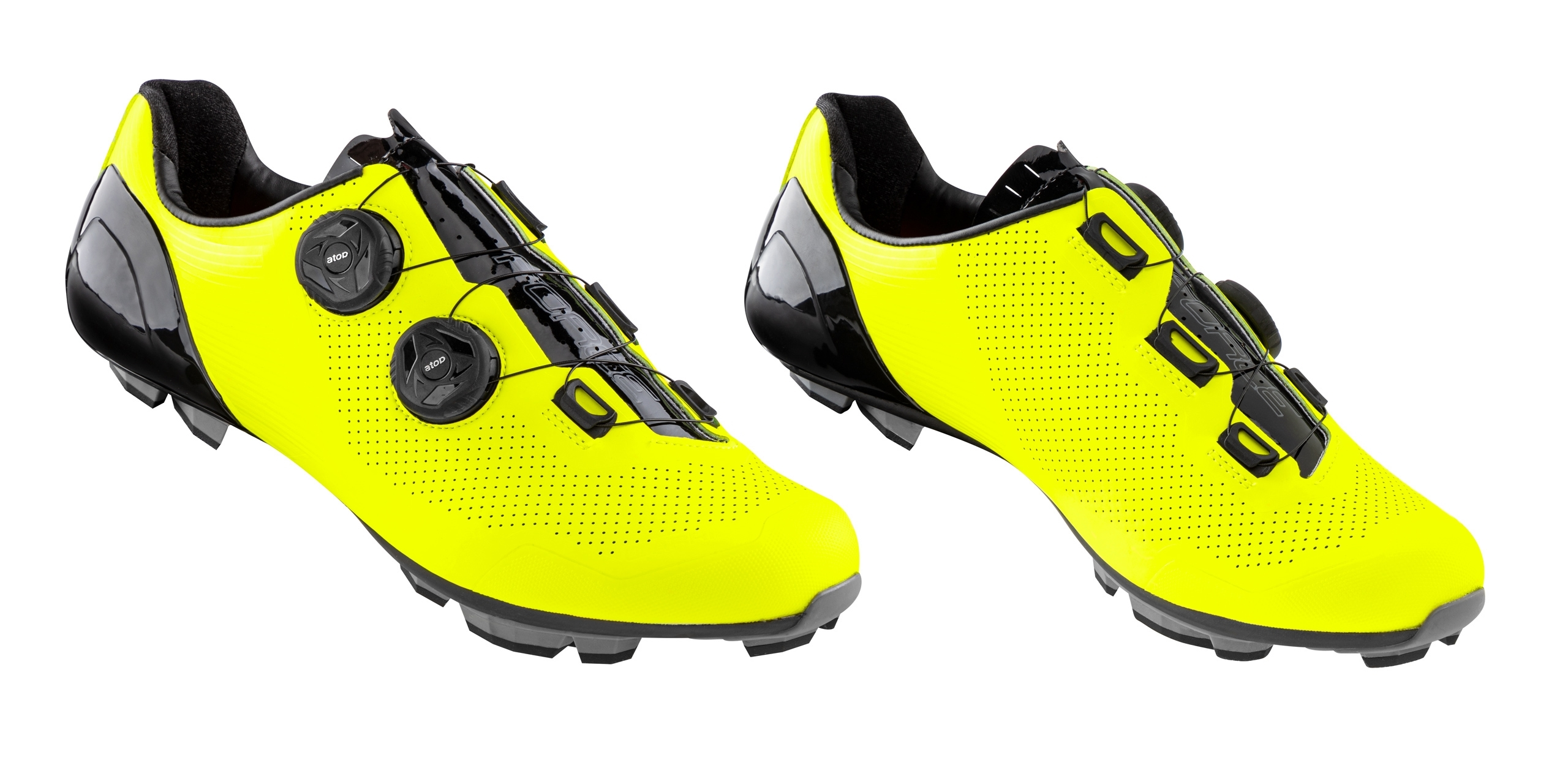 tretry FORCE MTB WARRIOR CARBON, fluo 45