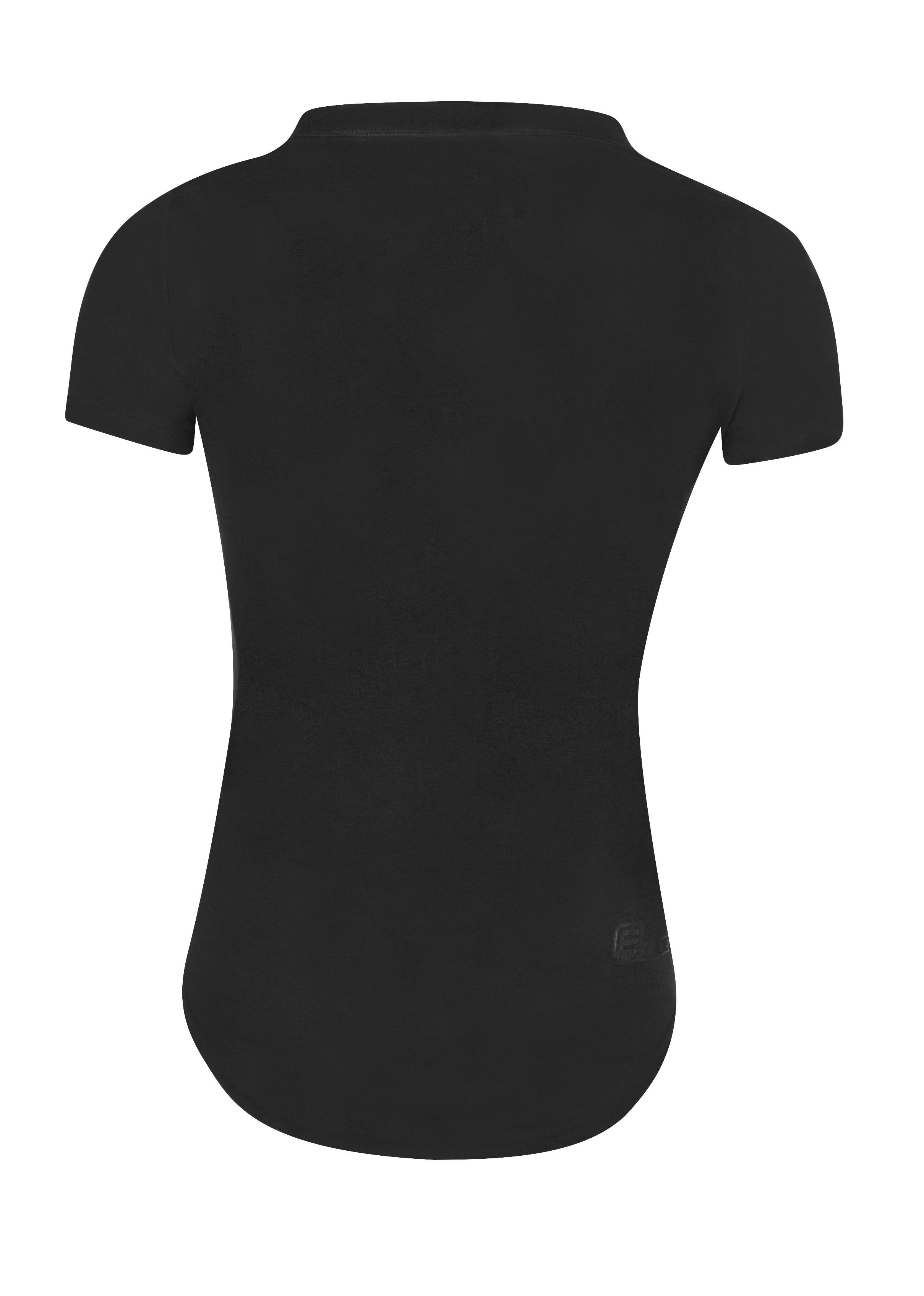 triko FORCE LADY krátký rukáv, černé M