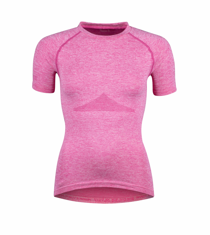 triko funkční F SOFT LADY kr rukáv, růžové M-L
