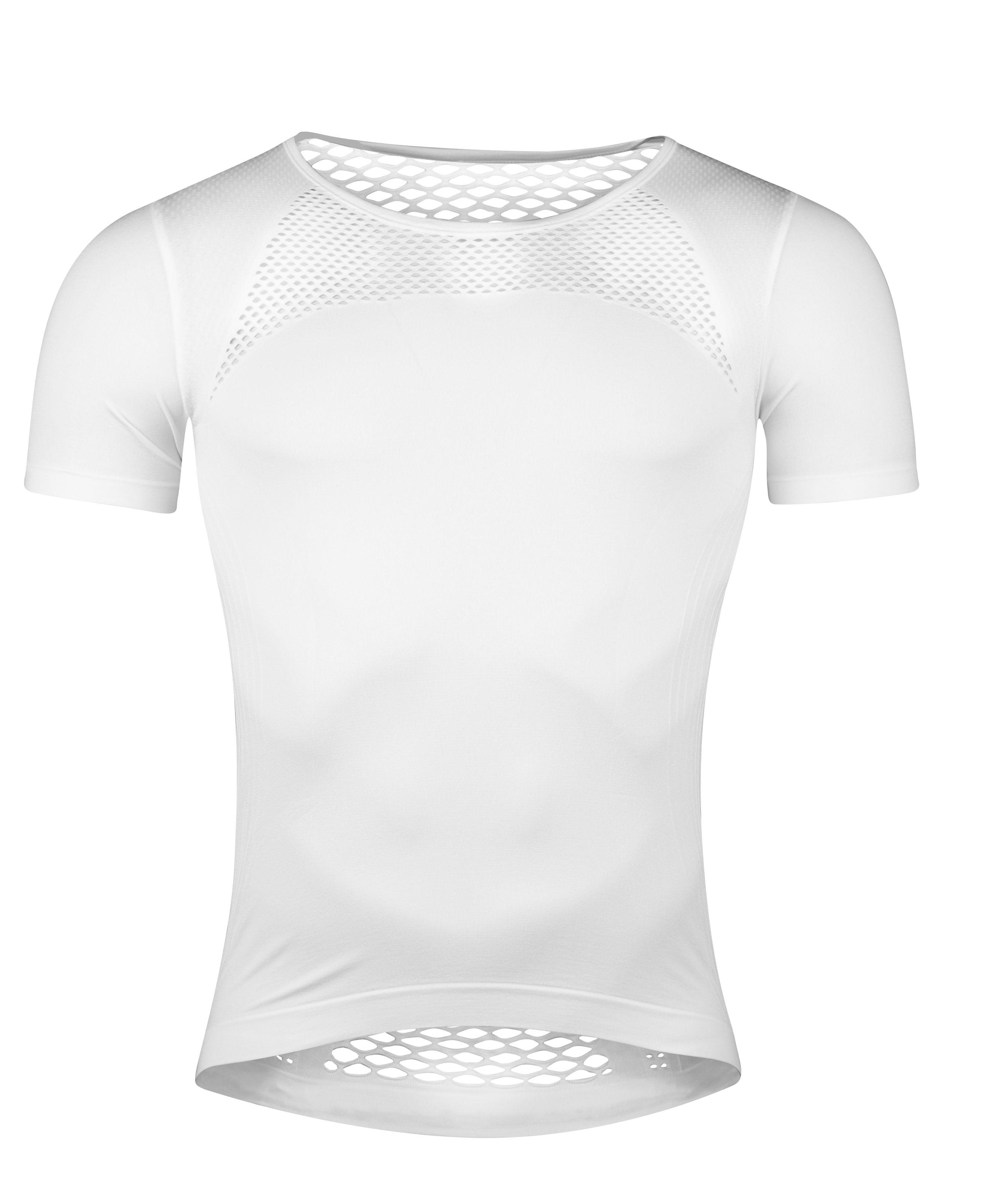 triko funkční  FORCE SUMMER krátký rukáv, bílé XS-S