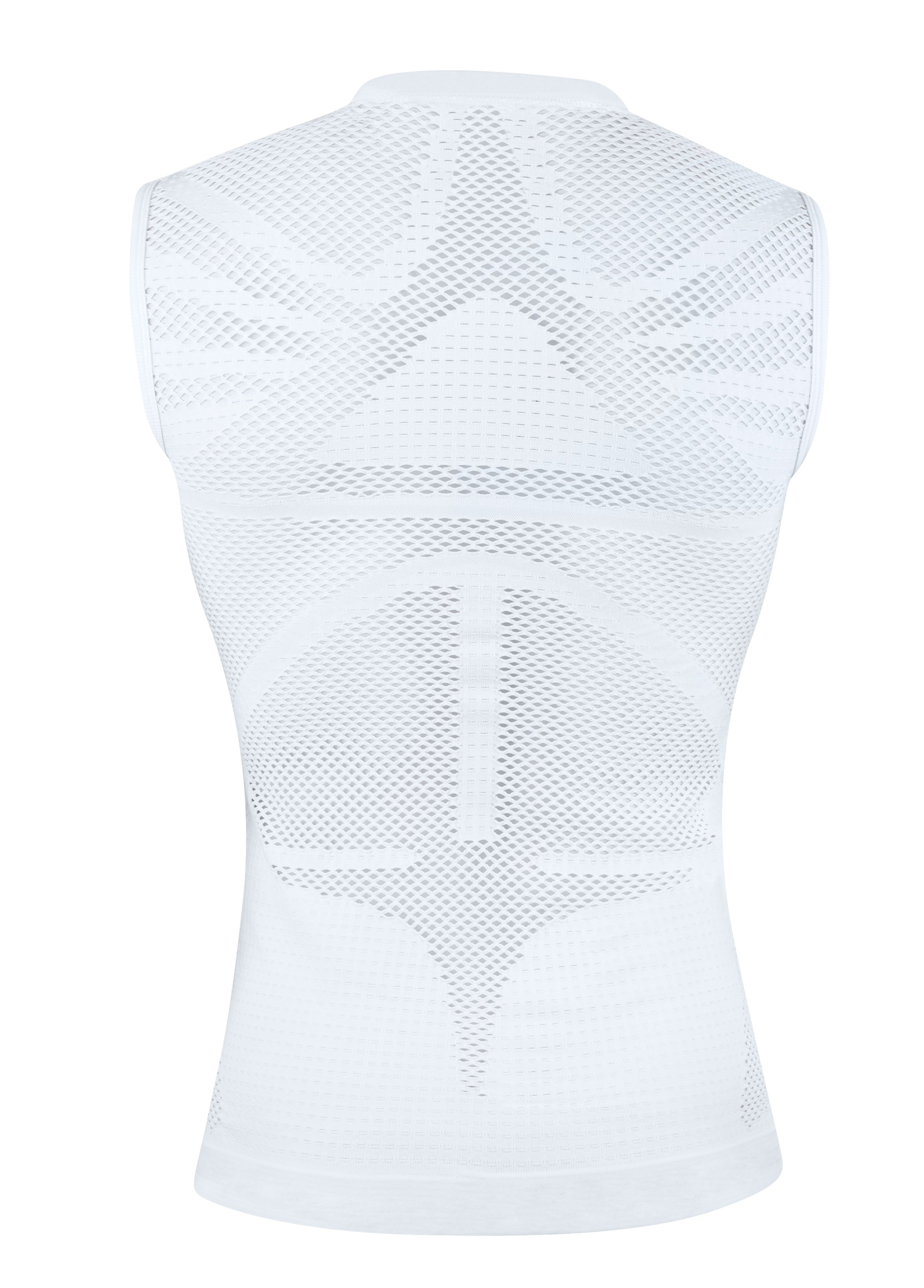 triko funkční F TROPIC bez rukávů,bílé 2XL-3XL