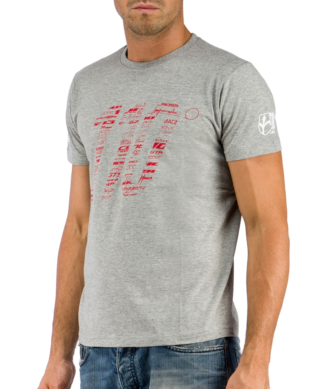 triko krátký rukáv WILIER 110 šedé M