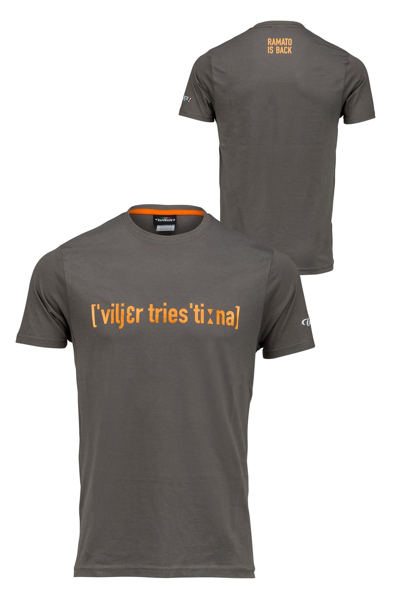 triko krátký rukáv WILIER SLANG šedé XL