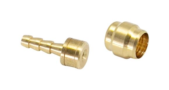 koncovky 2,1mm a olivy 5mm pro AVID/SRAM,10+10ks