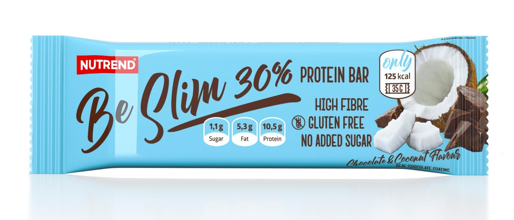 tyčinka BE SLIM BAR 35 g čokoláda + kokos