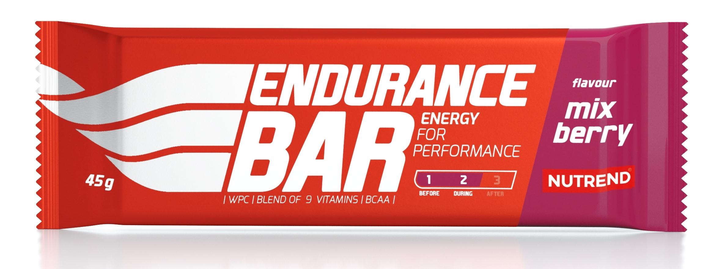 tyčinka ENDURANCE BAR 45g mix berry