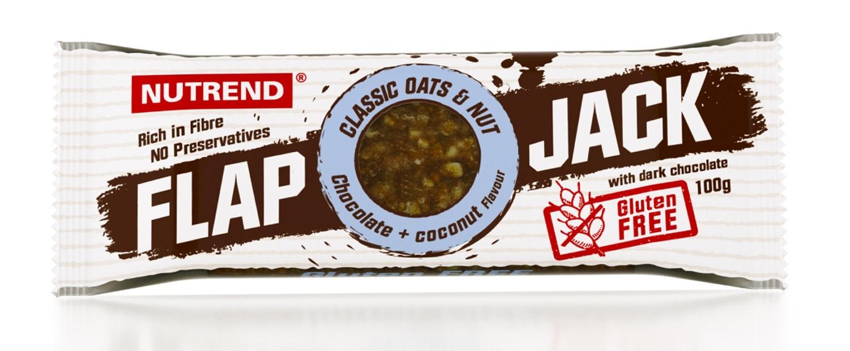 tyčinka FLAPJACK 100g čokoláda+kokos s h.čokoládou