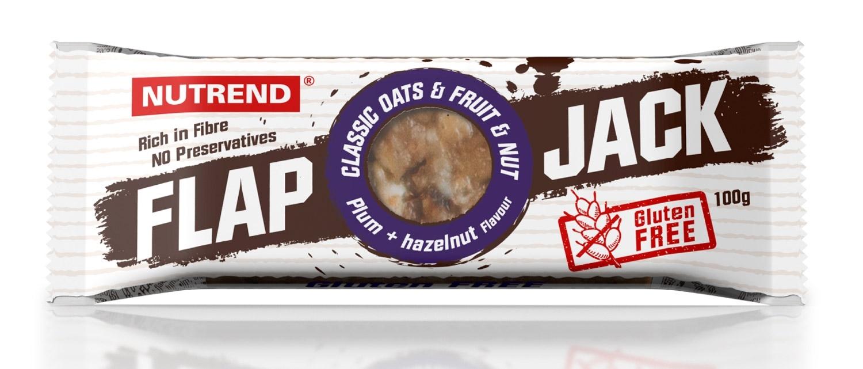 tyčinka FLAPJACK 100g švestka+lískový ořech