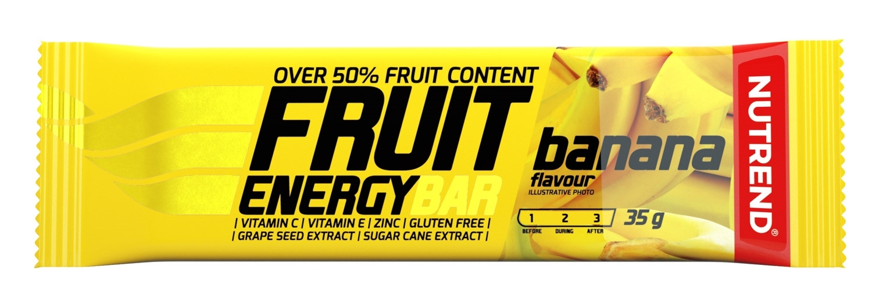 tyčinka FRUIT ENERGY BAR 35g banán - II. jakost