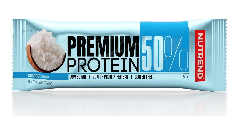 tyčinka PREMIUM PROTEIN 50 BAR 50 g kokos