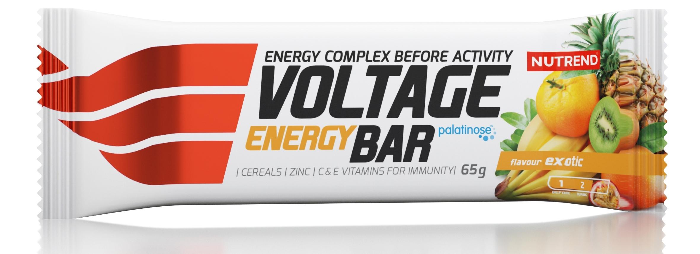 tyčinka VOLTAGE ENERGY CAKE 65g exotic