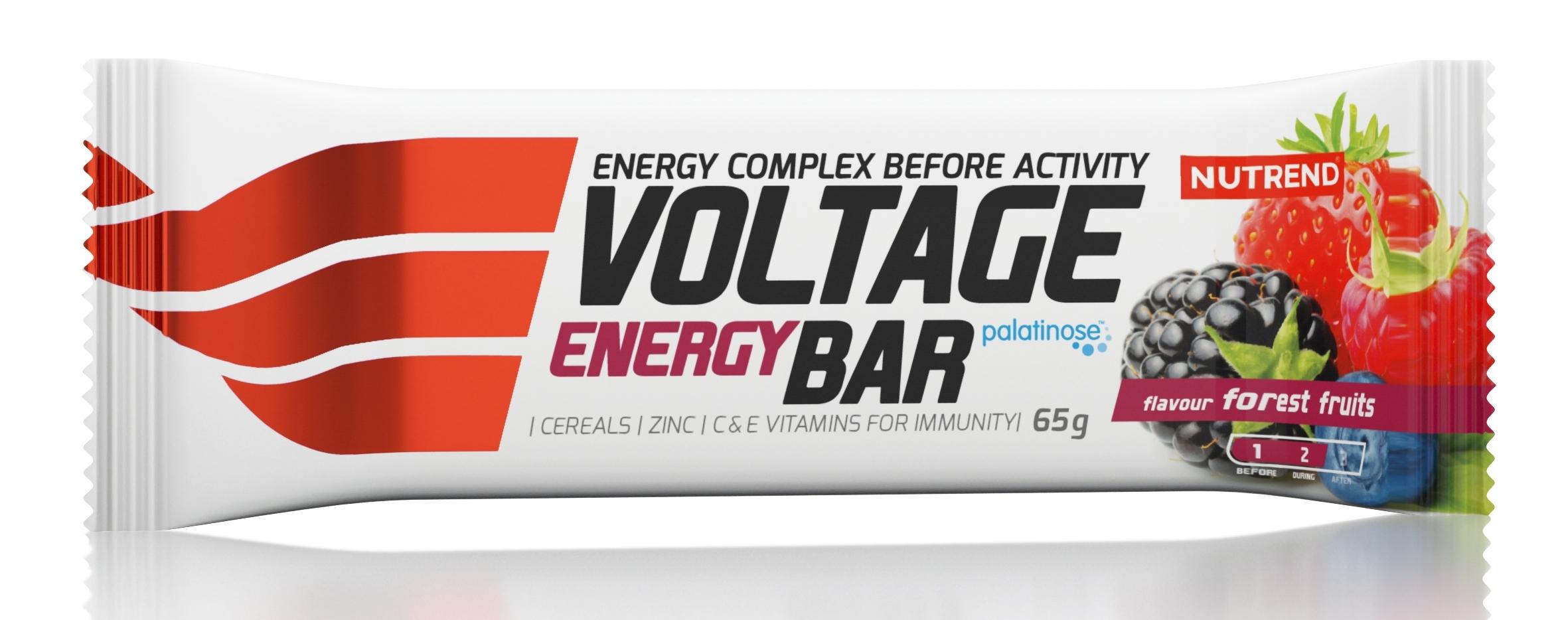 tyčinka VOLTAGE ENERGY CAKE 65g lesní plody