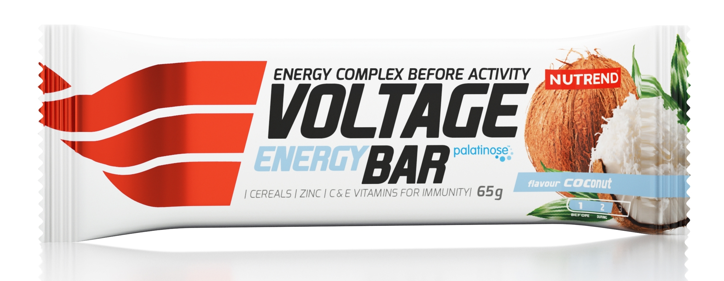 tyčinka VOLTAGE ENERGY CAKE 65g kokos