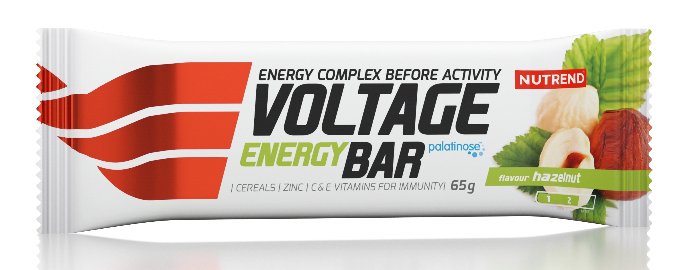 tyčinka VOLTAGE ENERGY CAKE 65g oříšek