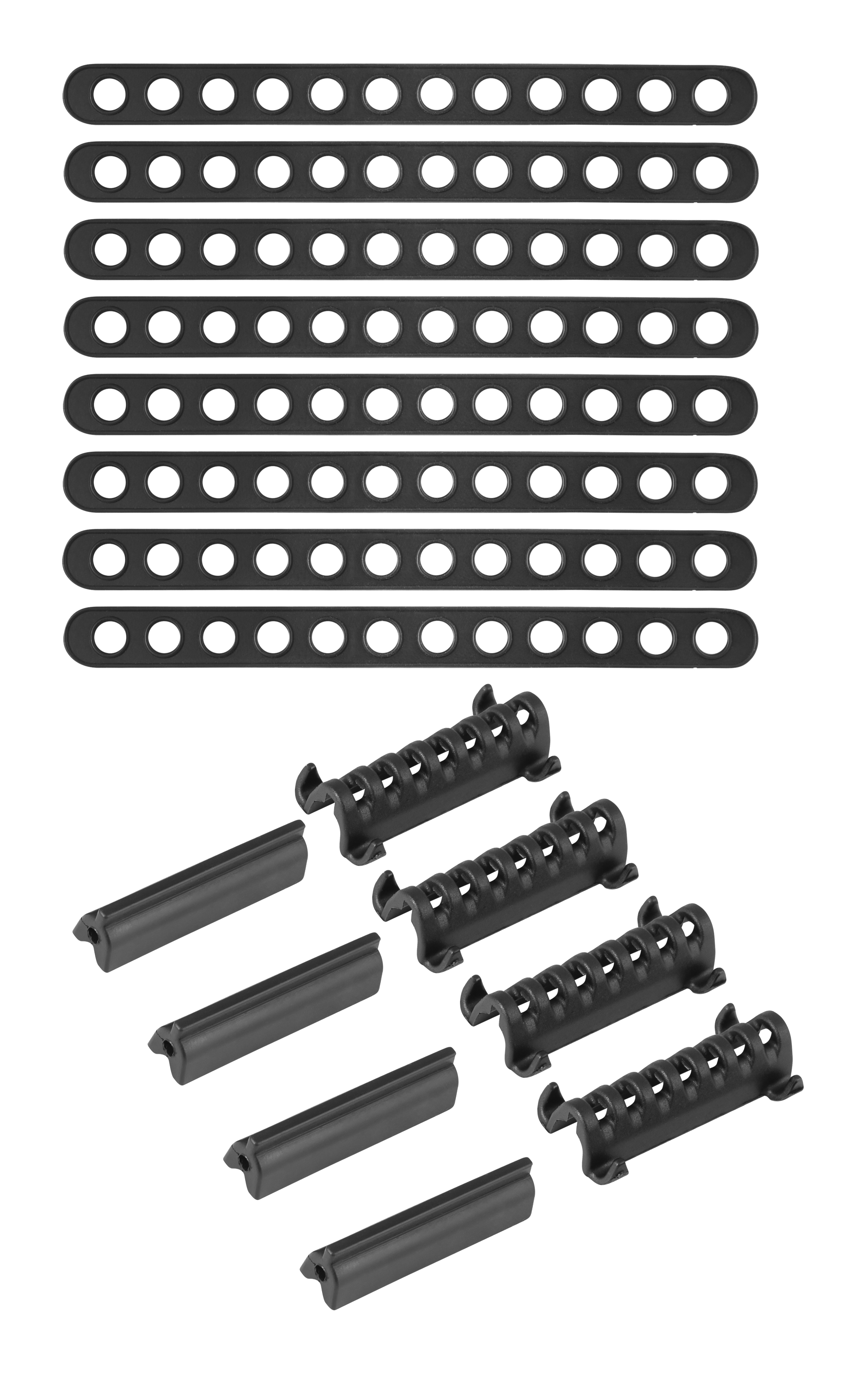 úchyty náhradní pro blatníky FORCE WIN 38/42 černé