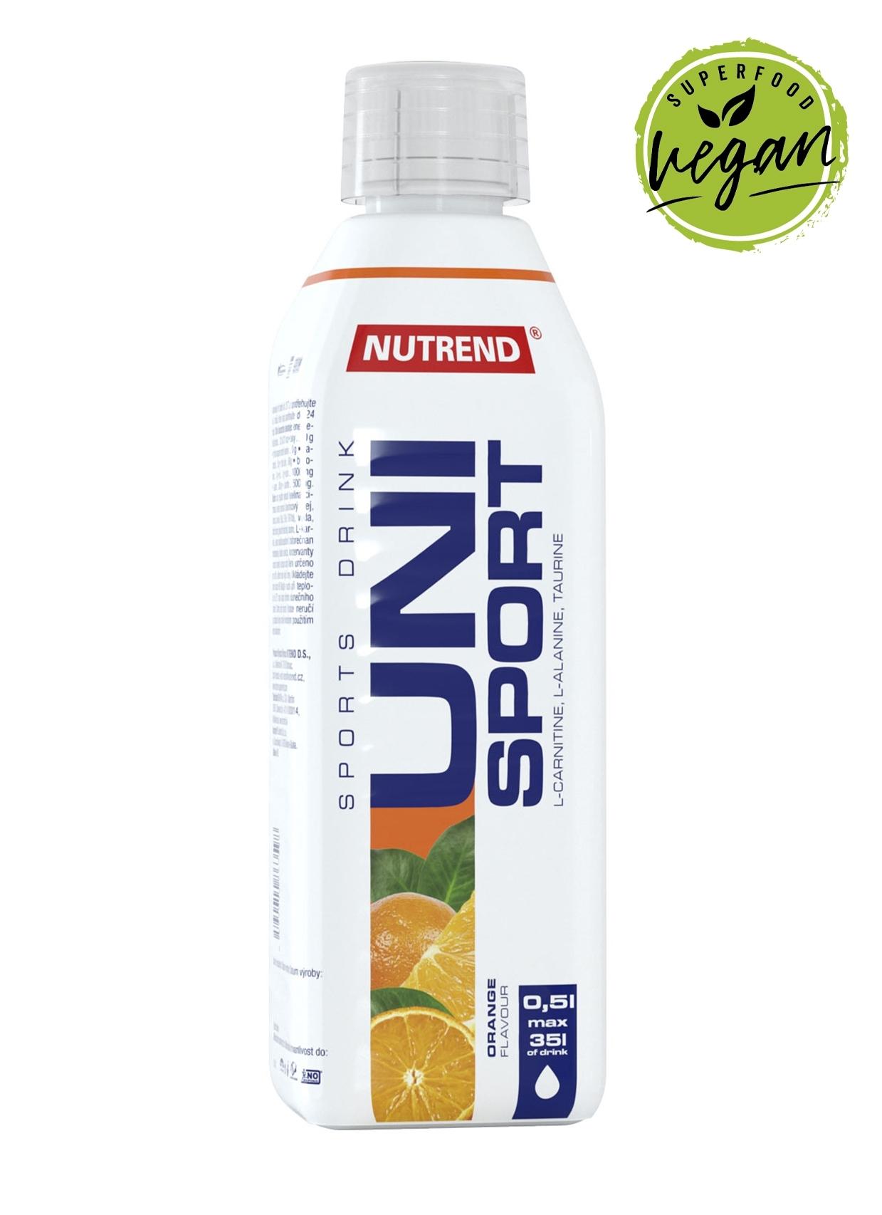 UNISPORT 0,5l         pomeranč