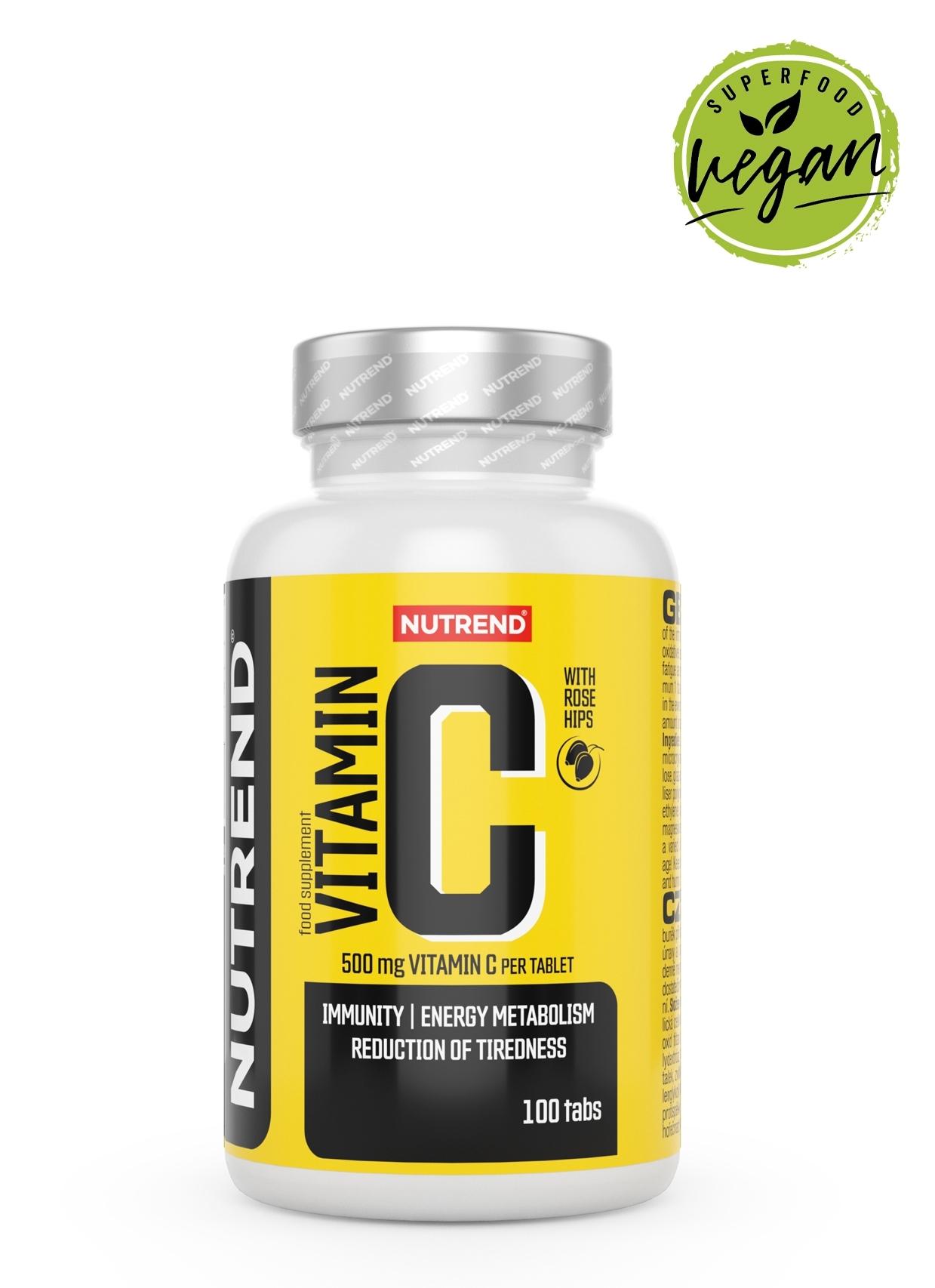 VITAMÍN C se šípky, obsahuje 100 tablet
