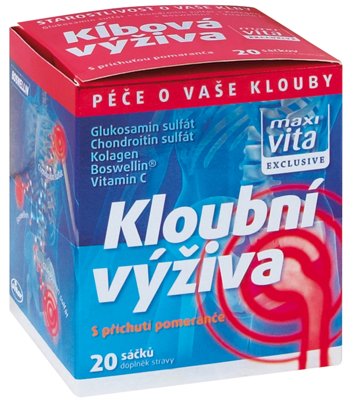 VITAR-Maxivita Kloubní výživa, box, 20 sáčků