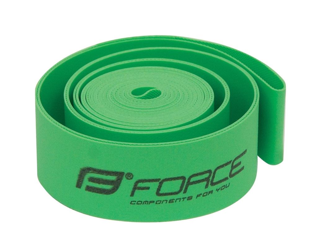 """vložka ráfková FORCE 29"""" (622-19) 20ks sáček,zelená"""