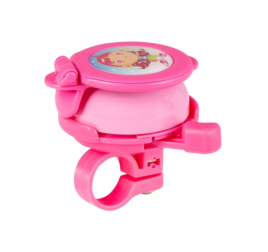 zvonek ZRCÁTKO Fe/plast 22,2mm, růžový